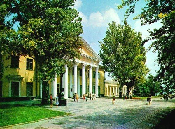 7 Dvorets kultury studentov v 1980 e gody.