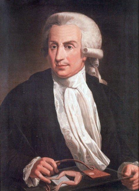 Luigi Galvani oil painting